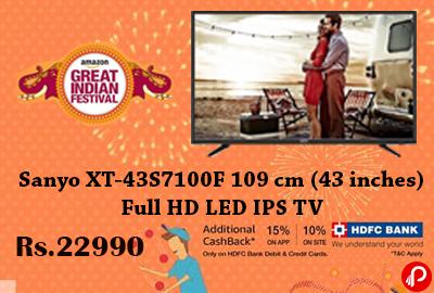Sanyo XT-43S7100F 109 cm (43 inches) Full HD LED IPS TV