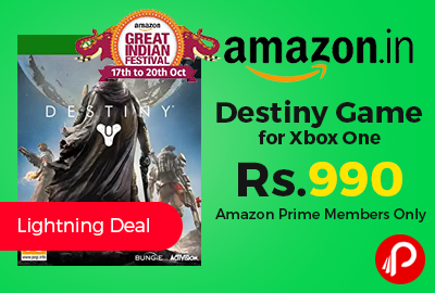 Destiny Game Xbox One at Rs.990 Only