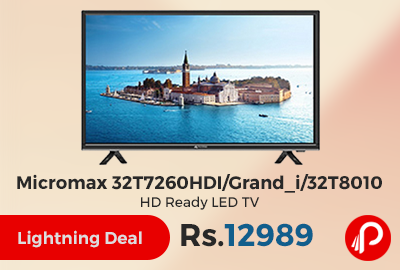 Micromax 32T7260HDI/Grand_i/32T8010 HD Ready LED TV