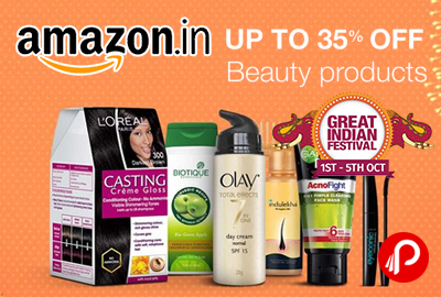 Beauty Products Upto 35% off