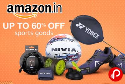 Sports Goods upto 60% off