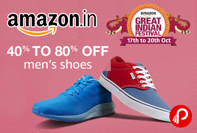 Men's Shoes 40% - 80% off - Amazon