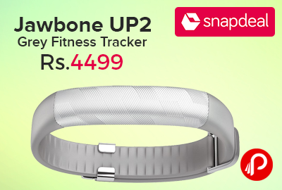 Jawbone UP2 Grey Fitness Tracker