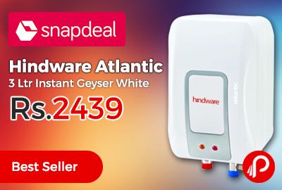 Hindware Atlantic 3 Ltr Instant Geyser White