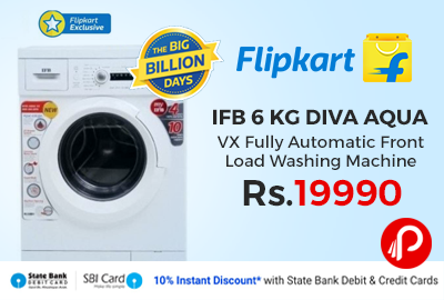 IFB 6 kg Diva Aqua VX Fully Automatic Front Load Washing Machine