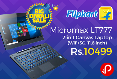 Micromax LT777 2 in 1 Canvas Laptop