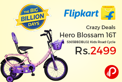 Hero Blossam 16T S365BBDBL02 Kids Road Cycle