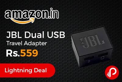 JBL Dual USB Travel Adapter
