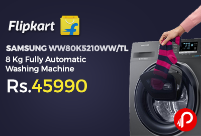 SAMSUNG WW80K5210WW/TL 8 Kg Fully Automatic Washing