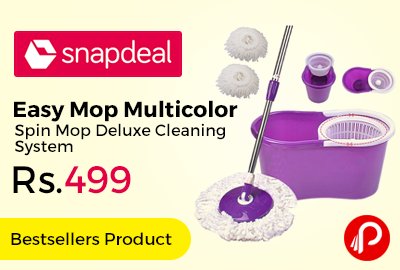 Easy Mop Multicolor Spin Mop Deluxe Cleaning System