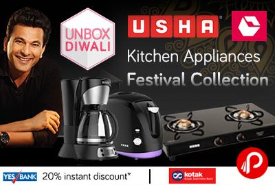 USHA Kitchen Appliances Festival Collection