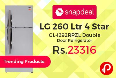 LG 260 Ltr 4 Star GL-I292RPZL Double Door Refrigerator