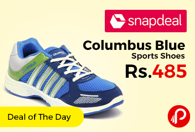 Columbus Blue Sports Shoes