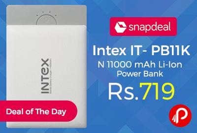 Intex IT- PB11K N 11000 mAh Li-Ion Power Bank