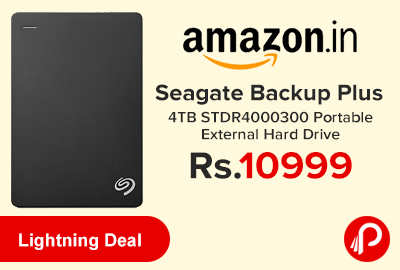 Seagate Backup Plus 4TB STDR4000300 Portable External Hard Drive