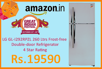 LG GL-I292RPZL 260 Ltrs Frost-free Double-door Refrigerator 4 Star Rating