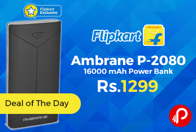 Ambrane P-2080 16000 mAh Power Bank