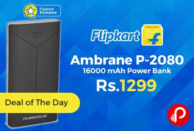 Ambrane P-2080 16000 mAh Power Bank
