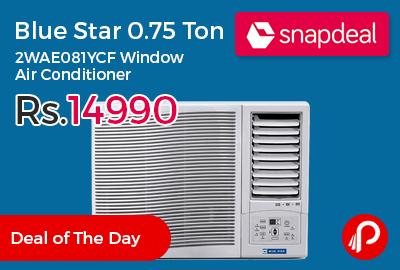 Blue Star 0.75 Ton 2WAE081YCF Window Air Conditioner