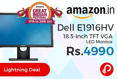 Dell E1916HV 18.5-inch TFT VGA LED Monitor