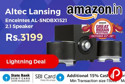 Altec Lansing Enceintes AL-SNDBX1521 2.1 Speaker