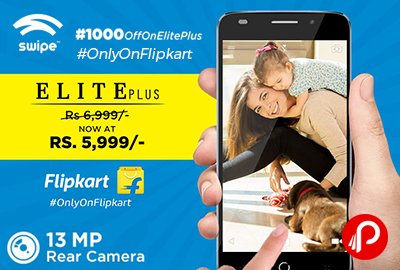 Swipe Elite Plus Mobile 16 GB Midnight Blue