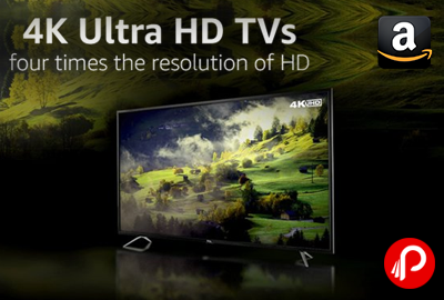 4K Ultra HD Smart LED TVs