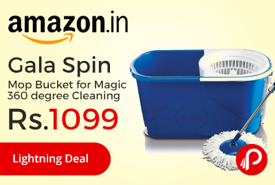 Gala Spin Mop Bucket for Magic 360 degree Cleaning