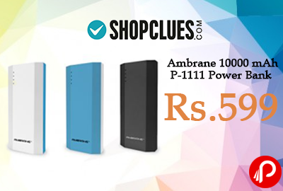 Ambrane 10000 mAh P-1111 Power Bank