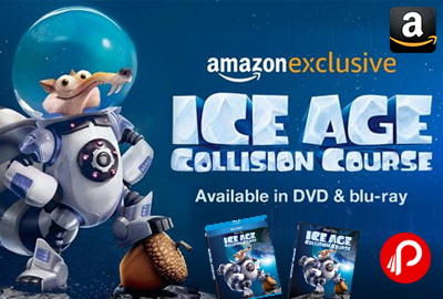 Ice Age 5 Collision Course Movie Blu-Ray and DVD