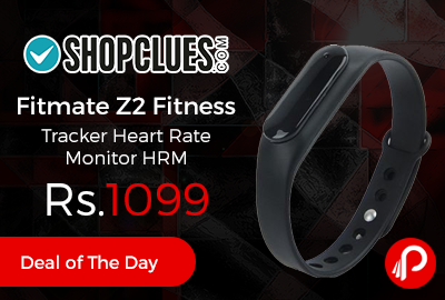 Fitmate Z2 Fitness Tracker Heart Rate Monitor HRM