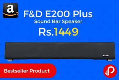 F&D E200 Plus Sound Bar Speaker