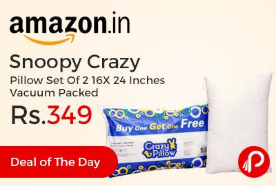 Snoopy Crazy Pillow Set Of 2