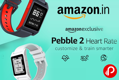 Pebble 2 Heart Rate Customize & Train Smarter