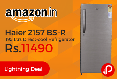 Haier 2157 BS-R 195 Ltrs Direct-cool Refrigerator