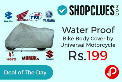 Water Proof Bike Body Cover
