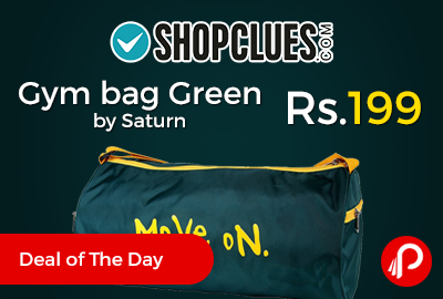 Gym bag Green by Saturn