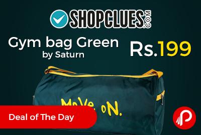 Gym bag Green by Saturn