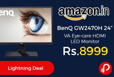 "BenQ GW2470H 24"" VA Eye-care HDMI LED Monitor"