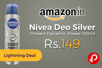 Nivea Deo Silver Protect Dynamic Power 150ml