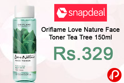 Oriflame Love Nature Face Toner Tea Tree 150ml