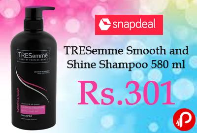 TRESemme Smooth and Shine Shampoo 580 ml