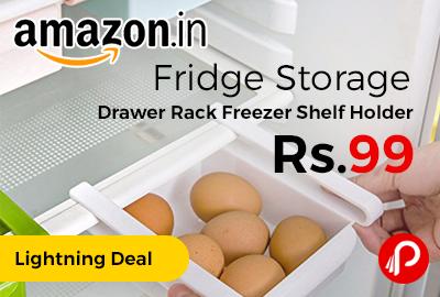 Fridge Storage Drawer Rack Freezer Shelf Holder