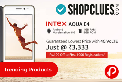 Intex Aqua E4 Mobile 4G VoLTE