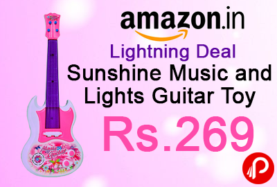 Sunshine Music and Lights Guitar Toy