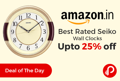Best Rated Seiko Wall Clocks