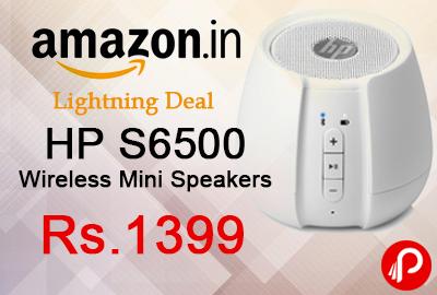 HP S6500 Wireless Mini Speakers