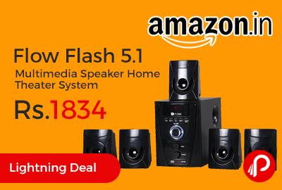 Flow Flash 5.1 Multimedia Speaker Home Theater System