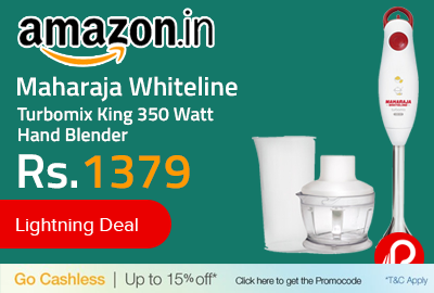 Maharaja Whiteline Turbomix King 350 Watt Hand Blender