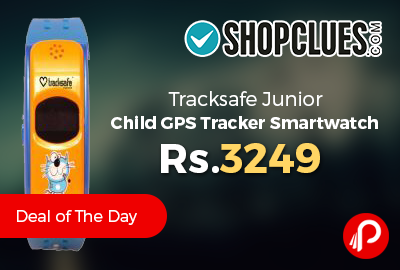 Tracksafe Junior Child GPS Tracker Smartwatch